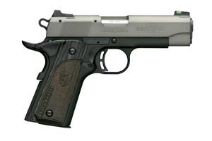Browning 1911-22 Black Label Gray Compact 22LR 051849490