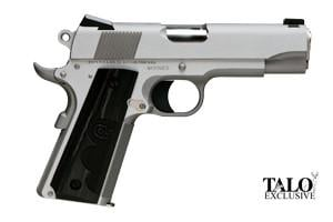 Colt Stainless Commander Wiley Clapp TALO Edition 45ACP O4040WC