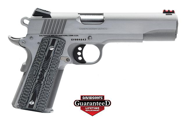 Colt Enhanced Competition Government Stainless Steel 38SUP 098289111319