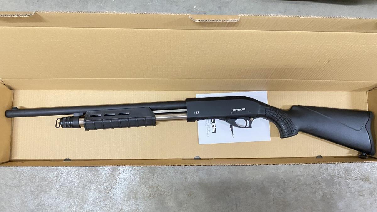 Omega Omega P12 12 Ga Shotgun 4+1 P12