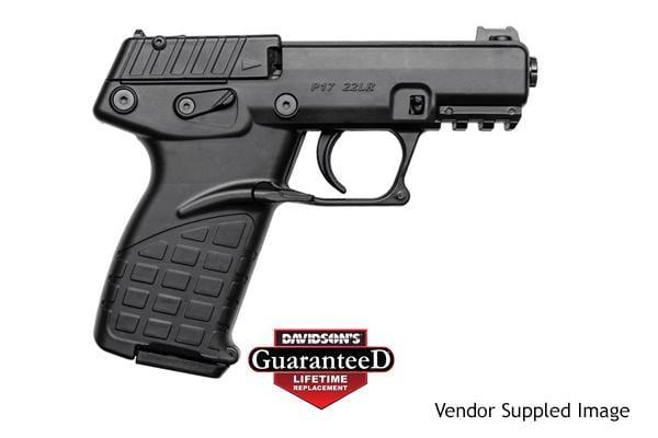 Kel-Tec P17 Black 22LR Pistol 16+1 P17BLK