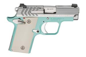 Springfield Armory 911 Vintage Blue/Stainless 380 PG9109VBS