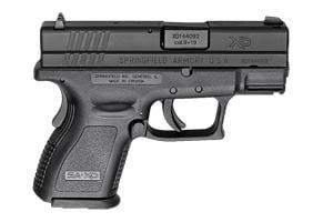 Springfield Armory XD Sub Compact Defender Series 9MM XDD9801