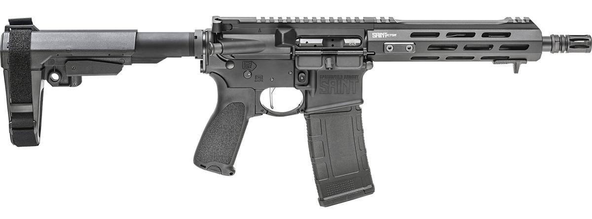 Springfield Armory Saint Victor Pistol 300 AAC Blackout STV909300B-SBA3