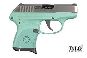 Ruger LCP Nickel Turquoise TALO Special Edition 380 3745-RUG