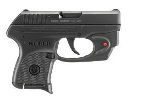 Ruger LCP with Viridian E-Series Red Laser 380 3752