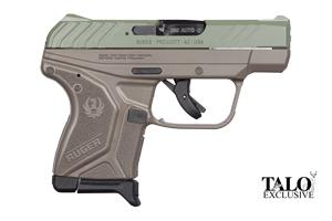 Ruger LCPII Jungle Green TALO Edition 380 3779