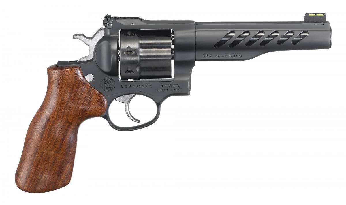 Ruger Super GP100 Competition 357 Magnum | 38 Special 736676050659