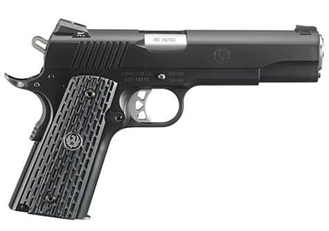 Ruger SR1911 Night Watchman 45 ACP 6708