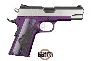 Ruger SR1911-CMD Lightweight Purple 9MM 6747