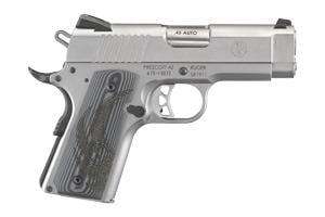 Ruger SR1911-Officer Style 45ACP 6762