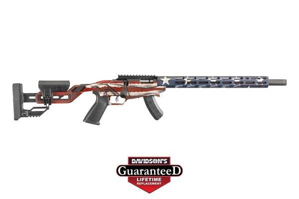 Ruger Ruger Precision Rimfire Rifle American Flag 22LR 736676084227