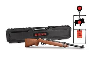 Ruger 10/22 Carbine With Spinner Target & Hard Case 22LR 31128
