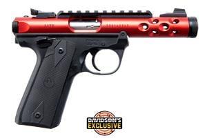 Ruger Mark IV 22/45 Lite Red 22LR 43910