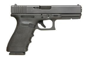 Glock Gen 3 21SF (Short Frame) with Glock Rail 45ACP PF-21502-01