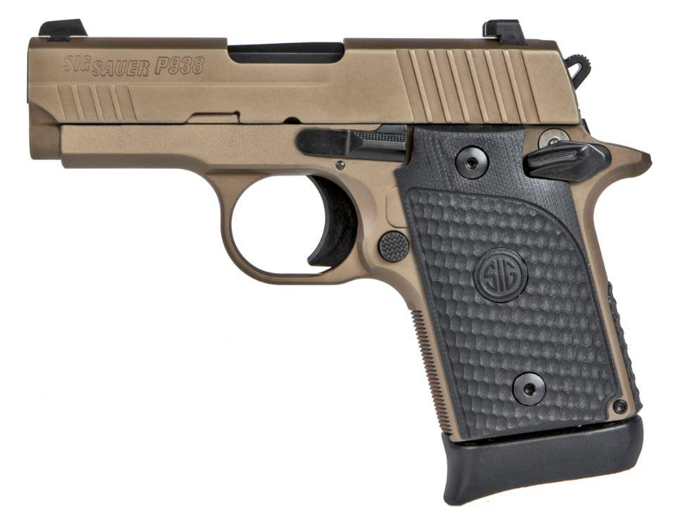 SIG SAUER P938 Emperor Scorpion 9mm 938-9-ESCPN-AMBI