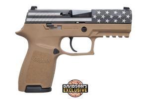 Sig Sauer P320 Engraved (Flag W/ Stars Slide) 9MM 798681605255