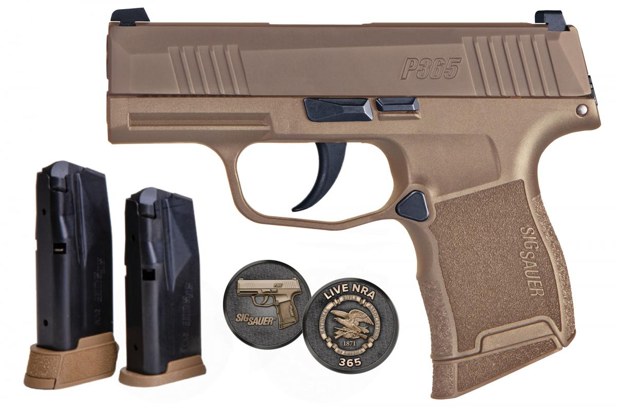 SIG SAUER P365 NRA 9mm 798681607891