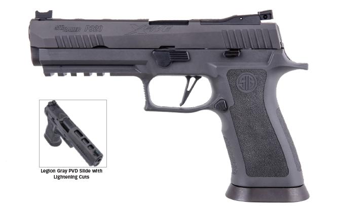 SIG SAUER P320 X-Five Legion 9mm 798681618286