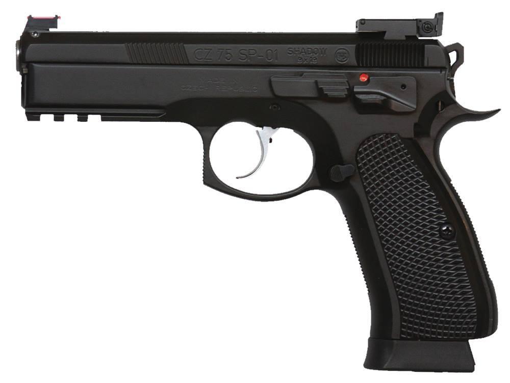 CZ-USA CZ 75 SP-01 Shadow Custom 9mm 806703917603