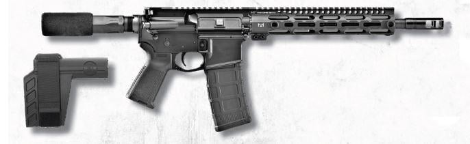 FN FN15 Pistol 300 AAC Blackout 36323