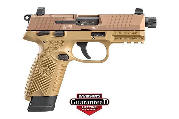 FN America 502 Tactical 22LR Pistol 15+1 & 10+1 66-101006