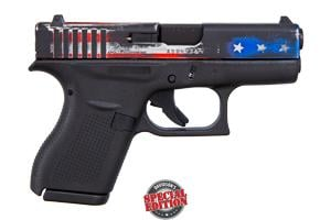 Glock 42 Flag Slide 380 ACG-00813