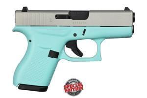Glock 42 Robin's Egg Blue 380 ACG-00814