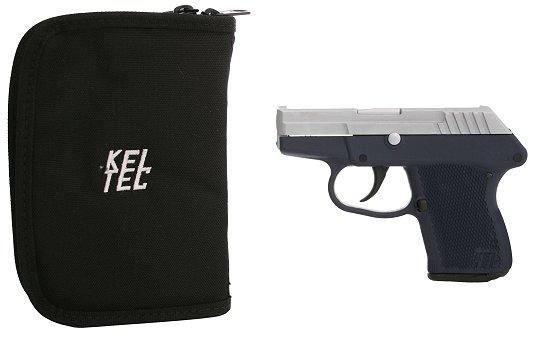 Kel-Tec P32  32 ACP in Chrome Slide/Navy Blue - $234 + FS (Free S/H on  Firearms)