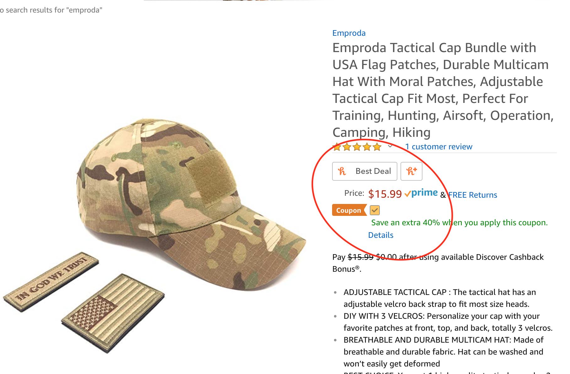 Durable Multicam Mesh Tactical Cap Bundle with USA Flag Patches -  10.19  shipped after added coupon  fde4dbdfd583