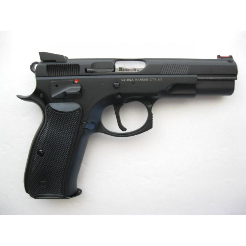 CZ 75 Shadow SA 9mm 16 Round Custom Shop Tuned Trigger Fiber Optic Comp  Sights - $794 43 + $25 S/H