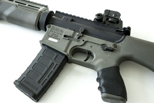 CAV15-MKII AR-15 Polymer Stripped Lower Receiver with fixed Pistol Grip and  Stock - $175 after coupon
