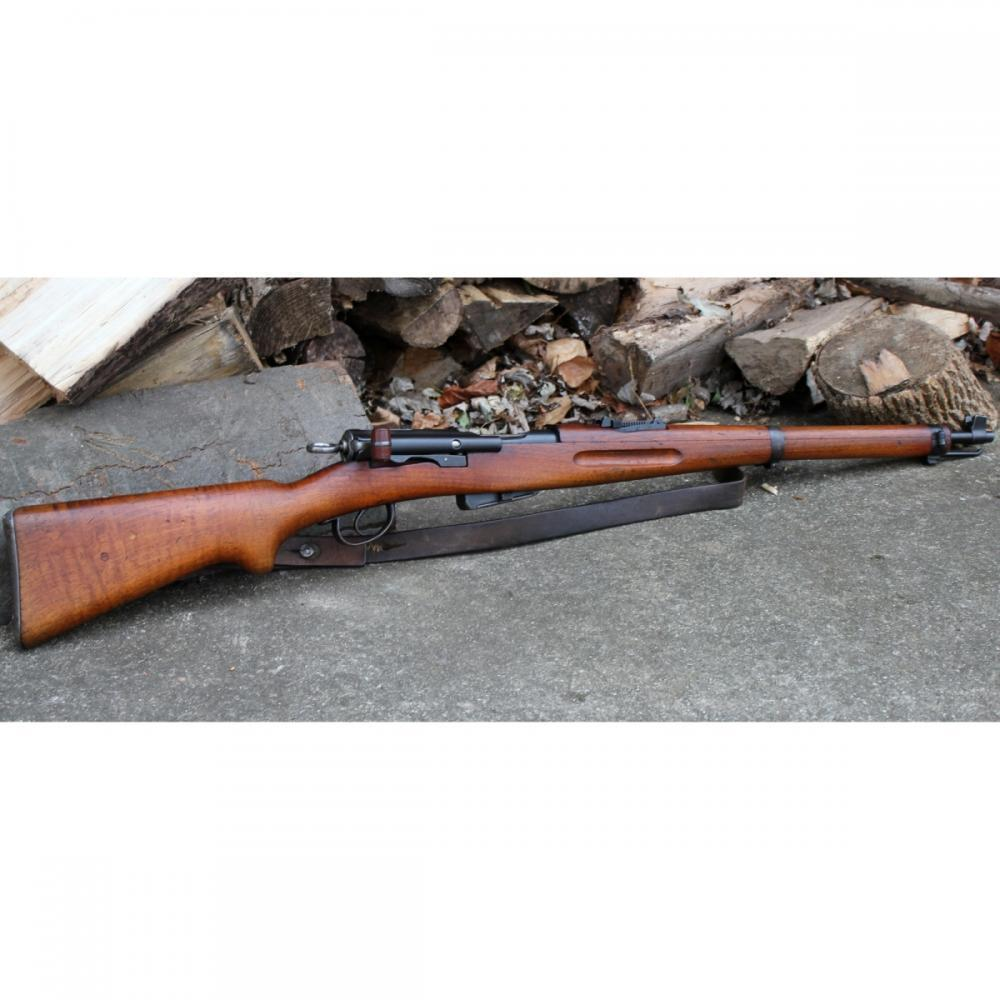 Swiss K11 Carbine Straight Pull 7 5x55 5 Rnds - $299 99