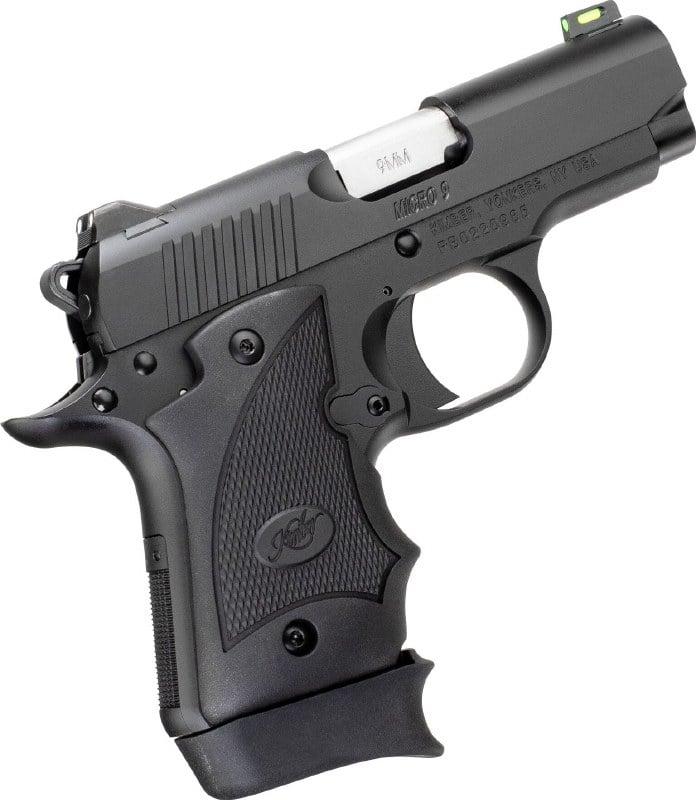 Kimber 1911 Micro Pistols: Kimber 1911 9mm Micro 9 Shot Show Special Black Pistol