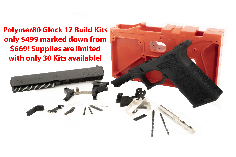 Polymer80 Glock 17 Handgun Build Kit - $499