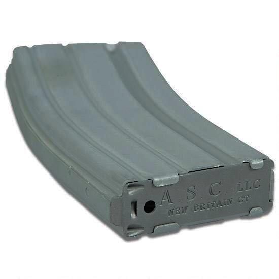 ASC  223/5 56 AR-15 Magazine 30 Rounds Aluminum Gray - $10 12 (Free