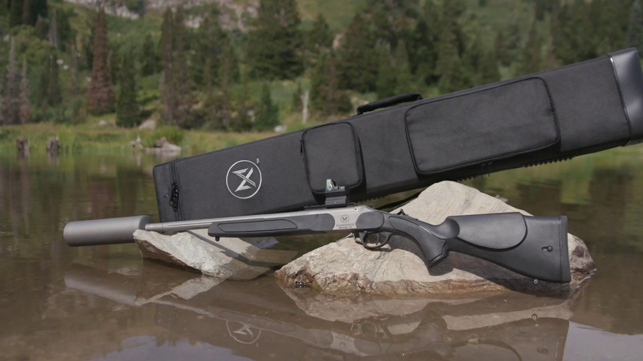 Silencerco Maxim 50 integrally suppressed muzzleloader- $450 (no 4473, no  $200 tax stamp required)