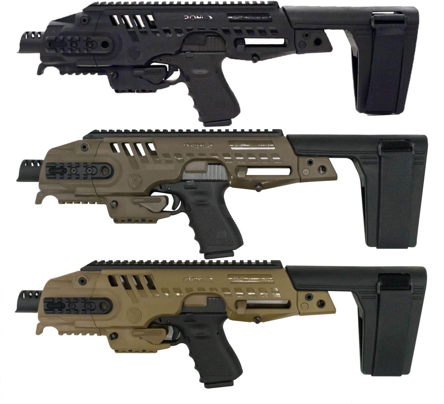 Command Arms Accessories Micro RONI Stabilizer Glock ...