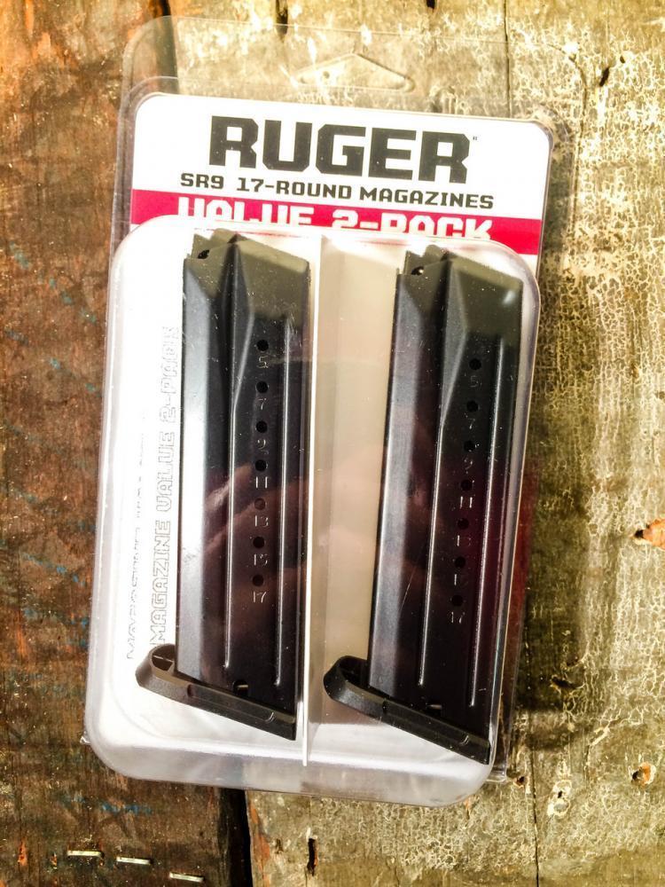 Ruger SR9/SR9C Magazine 2 PACK 9MM - $35 99 ($7 99 S/H on firearms)