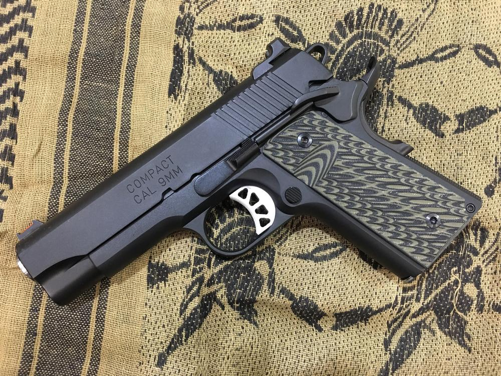 Springfield Armory SI Exclusive RANGE OFFICER ELITE OD GRN W/RANGE BAG -  $699 99 (Free S/H on Firearms)