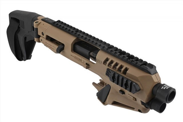 NEW CAA FDE MICRO RONI STABILIZER FOR GLOCK 17/22/31 OR 19/23/32 GEN 3-4 -  $189 99