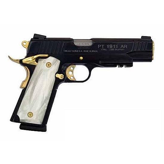 taurus model 1911 38 super 5 barrel 9 rounds blued finish with