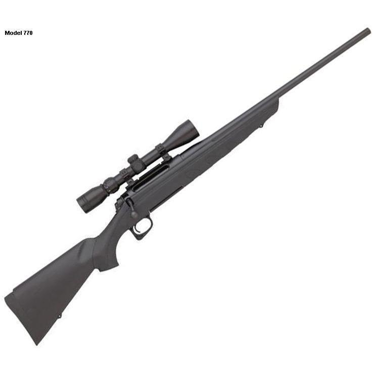 Remington Model 770 Bolt Action Rifle 3-9X40 Scope & Mounts Included -  $199 97 (in-store only)