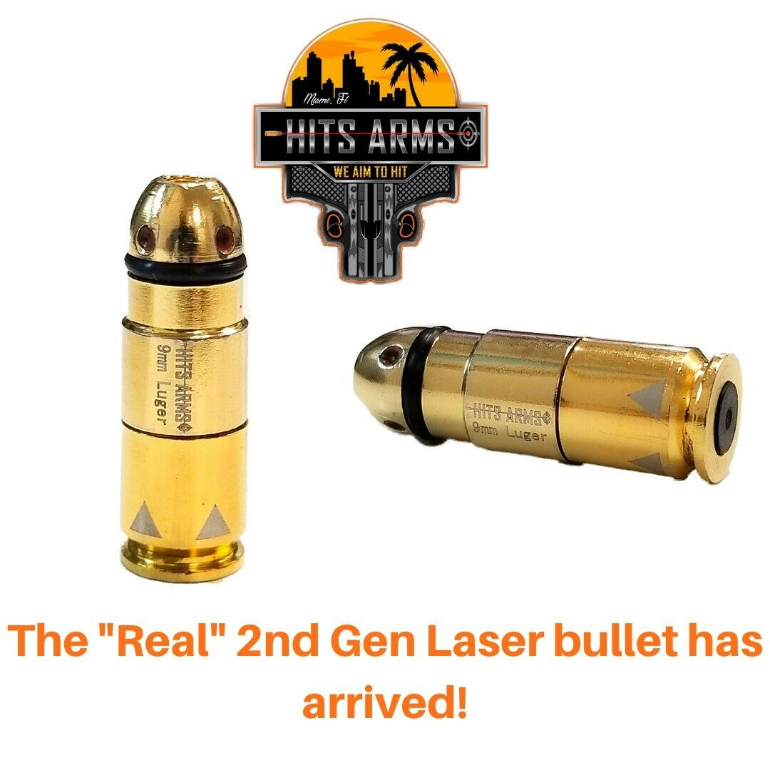 9mm Luger Laser Dry Fire Bullet By Hits Arms 53 09 W Code Blackfriday Gun Deals