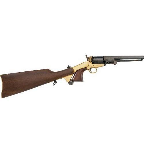 Pietta Model 1851 Navy Black-Powder Revolver Shoulder Stock - $199 88 (Free  2-Day S/H over $50)