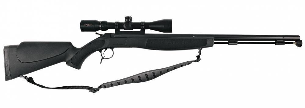 CVA Optima V2 Stealth Muzzleloader w/3-9x40 Scope & Gun Case Combo -  Nitride Stainless Steel/Black - $399 88 (Free 2-Day Shipping over $50)