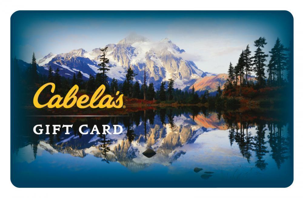$50 Cabela\'s Gift Card For Only $40! - FREE Mail Delivery - 20% Off ...