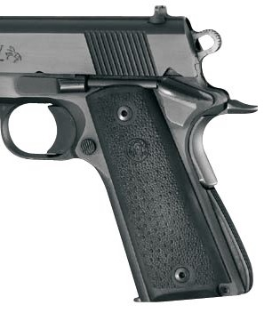 Hogue Rubber Grip Panels for Gov't 1911, w/Palm Swells - $4 88 (Free 2-Day  S/H over $50)