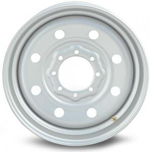 Boar Trailer Wheel, Evron Single 19.5 x 6 4.88 Center Bore 000000048331