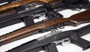 Mini 14 Ruger Mini 14 223 Rem Police Trades 000010174810 Gun Deals